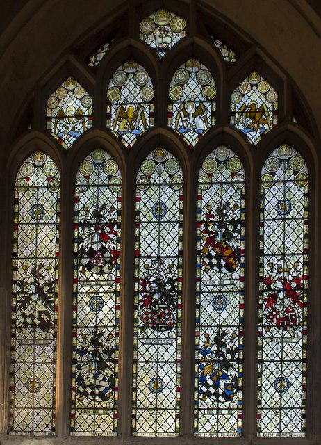 St Barbe window, Bath Abbey