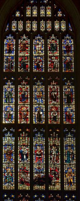 Jesse Window (partial), Bath Abbey