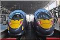 TQ3082 : Two Javelins, St Pancras Station by Jim Barton