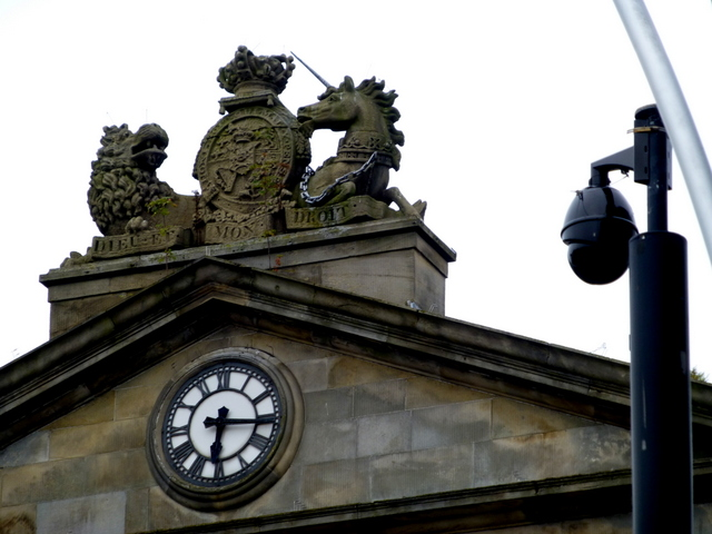 Clock displaying the wrong time, Omagh (1)