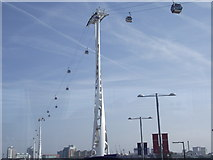 TQ3980 : Emirates Air Line by Pete Rigby