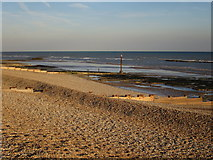 TQ7407 : Beach at Bexhill by Oast House Archive
