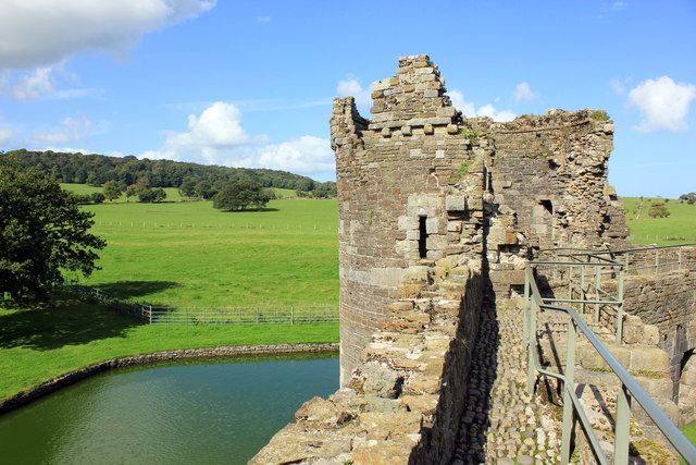 Curtain Wall Tower at Beaumaris Castle