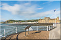 SN5781 : Aberystwyth seafront by Ian Capper