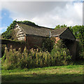 TL5444 : Derelict barn at Catley Park by John Sutton