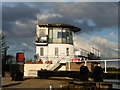 SE8311 : Control tower, Keadby Lock, Stainforth & Keadby Canal by Christine Johnstone