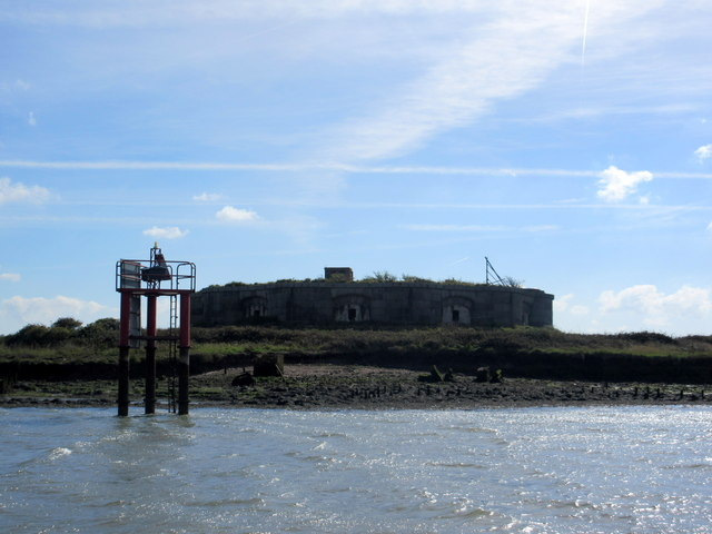 Fort Darnet and River marker