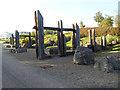 """NZ3467 : """"Rugged Landscape"""", Redburn Dene by Oliver Dixon"""