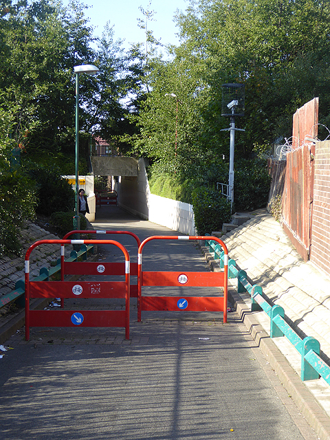 Cycle barriers, Tyne Dock Station