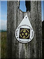 SE0711 : Walkers Welcome waymark, Lingards by Humphrey Bolton