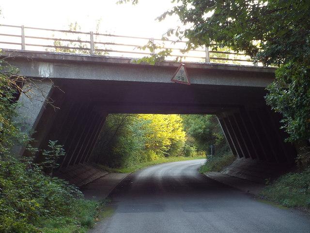 Bridge over Potterscrouch Lane