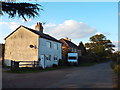 TL1205 : Houses on Potterscrouch Lane, near St Albans by Malc McDonald