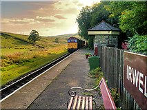 SD7920 : Irwell Vale Halt, Late Afternoon by David Dixon