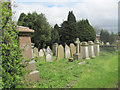 SP9212 : In the Graveyard of New Mill Baptist Church, Tring by Chris Reynolds