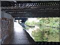 SP0990 : Underneath Salford Bridge by Mat Fascione