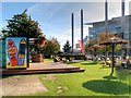 SJ8097 : The Plaza, MediaCityUK by David Dixon