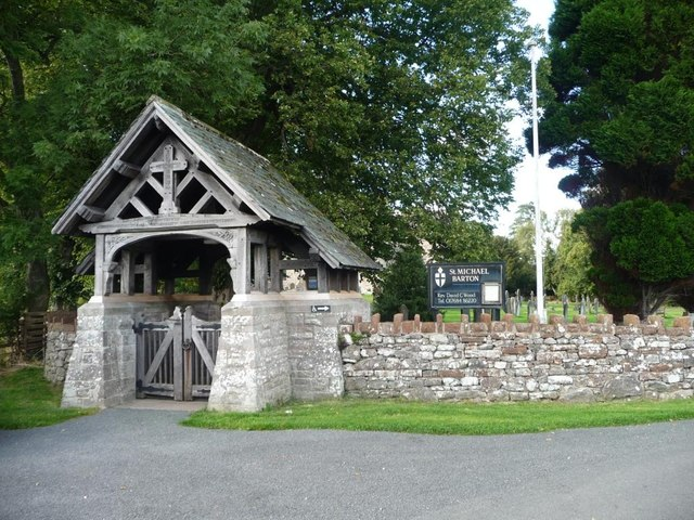 Lych Gate War Memorial, St Michael's Church, Barton