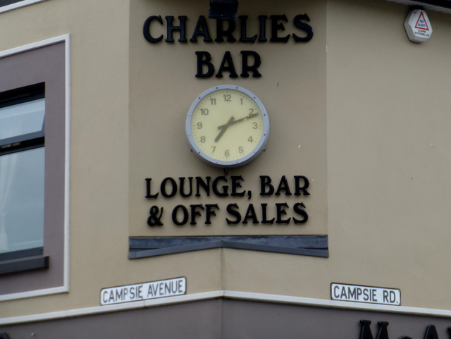 Clock displaying the wrong time, Omagh (3)
