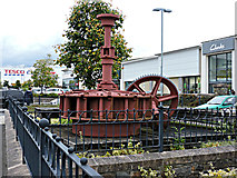 NT4935 : Old water turbine by Thomas Nugent