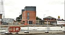 J3674 : The CS Lewis Civic Square, Belfast - October 2015(1) by Albert Bridge