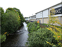 NT4935 : Gala Water Retail Park by Thomas Nugent