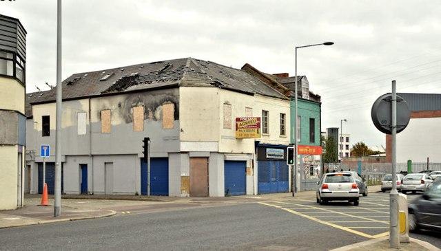 Nos 374-378 Newtownards Road, Belfast (October 2015)