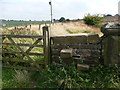 SE0711 : Waymarked path along the Blackmootfoot Conduit, Lingards by Humphrey Bolton