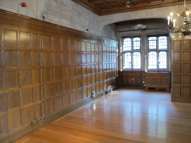 Wood panelled room, Two Temple Place