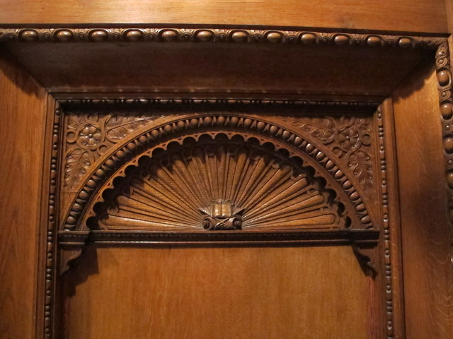 Decorative wood carving, Two Temple Place