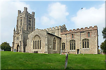TL5234 : Newport church by Robin Webster