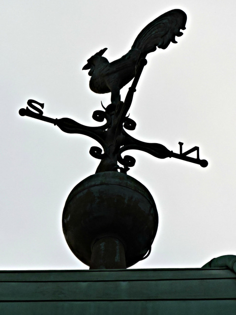 Connal's buildings weather vane