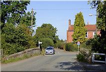 SJ8512 : Long Street in Wheaton Aston, Staffordshire by Roger  Kidd