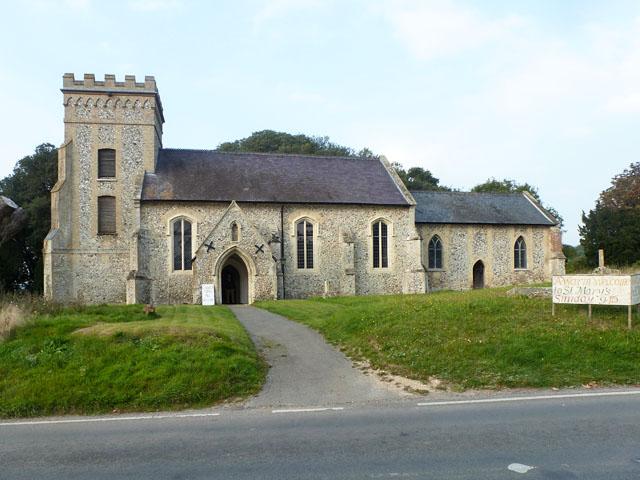 Weston Colville church