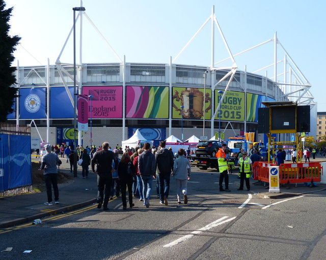 The King Power Stadium in Leicester