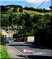 SO8602 : SLOW on  Brimscombe Hill, Brimscombe by Jaggery