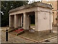 SD8839 : Colne War Memorial by Julian Osley