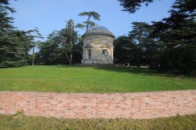 Rotunda Tower and Ha-Ha