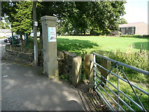 SE1321 : Stile on Brighouse FP86 at Boothroyd Lane, Rastrick by Humphrey Bolton