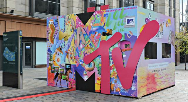 MTV promotion on Buchanan Street