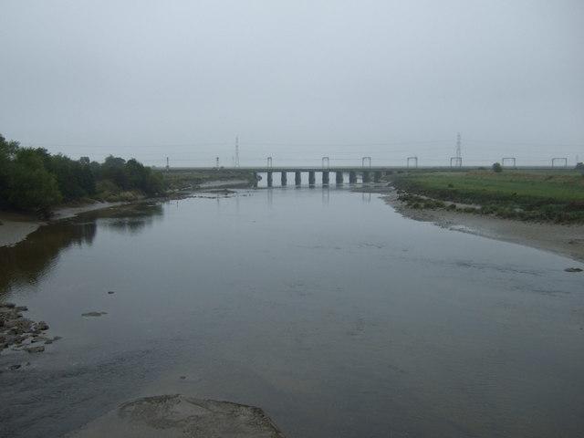 The River Esk, Metal Bridge