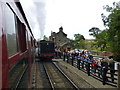 NZ8301 : Letting off steam at Goathland station by Raymond Knapman