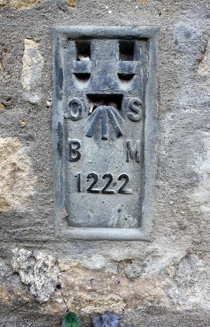 Benchmark on #73 Casterton Road