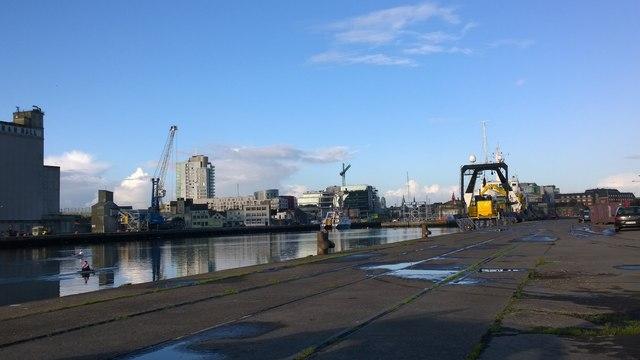Dublin Docks on the River Lee