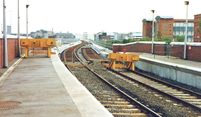 Weir and cross-harbour bridges, Belfast (June 1994)