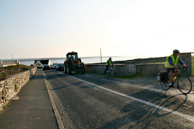 Traffic jam on the R482, Spanish Point