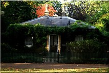 TQ2779 : View of a house near Rotten Row in Hyde Park by Robert Lamb