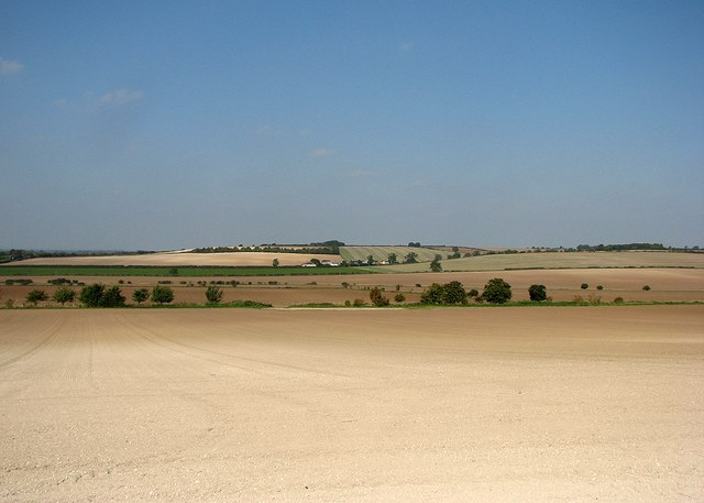 Over chalky fields