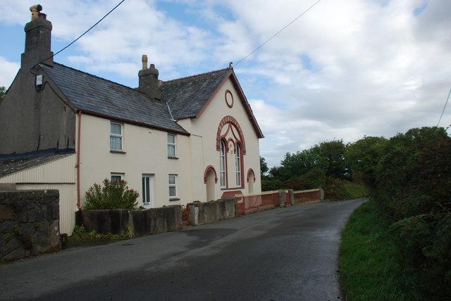 Capel a Thŷ Capel Bethel - Bethel Chapel and Chapel House