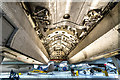 TL4646 : Inside Avro Vulcan Bomb Store, Imperial War Museum, Duxford, Cambridgeshire by Christine Matthews
