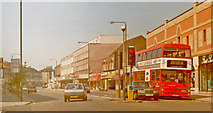 TQ2075 : London (Wandsworth), 1989: west on Upper Richmond Road, East Sheen by Ben Brooksbank